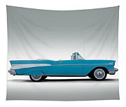 57 Chevy Convertible Tapestry