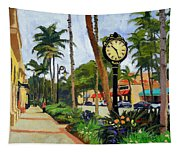 5th Avenue Naples Florida Tapestry