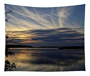 An Outer Banks Of North Carolina Sunset Tapestry