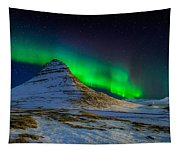 Aurora Borealis Or Northern Lights Tapestry