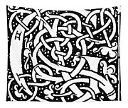 Decorative Initial G Tapestry