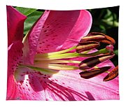 Dwarf Oriental Lily Named Farolito Tapestry