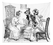 Scene From Pride And Prejudice By Jane Austen Tapestry