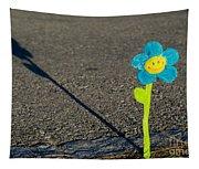 Smile Flower Tapestry