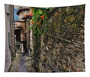 Tight Alley Tapestry