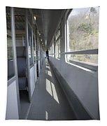 Train Wagon Tapestry