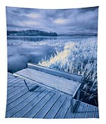 Variations Of A Dock Tapestry