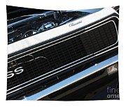 67 Black Camaro Ss Grill-8039-2 Tapestry