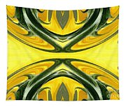 Color Fashion Abstract Tapestry
