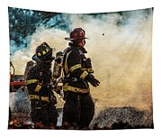 Firefighters Tapestry