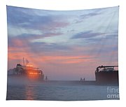 Ghost Ship Glowing Tapestry