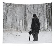 Snowy Day Tapestry
