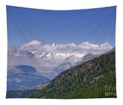 Swiss Alps Tapestry