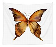 7 Yellow Gorgon Butterfly Tapestry