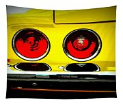 71 Camaro Tail Lights Tapestry