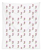 72 Dancing Pink Magnolias Panel Tapestry