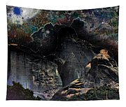 Space Landscape Tapestry