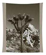 Joshua Tree National Park Landscape No 7 In Sepia Tapestry