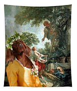 Irish Setter Art Canvas Print Tapestry