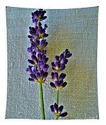 Lavender On Linen Tapestry