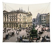 London Piccadilly Circus Tapestry