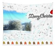 Christmas Card 24 Tapestry