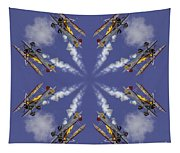 8 Planes Tapestry