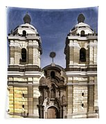 The Monastery Of San Francisco -  Lima Peru Tapestry