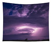 Wicked Good Nebraska Supercell Tapestry