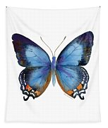 80 Imperial Blue Butterfly Tapestry