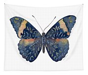 89 Red Cracker Butterfly Tapestry