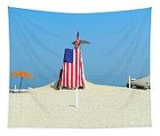 9-11 Beach Memorial Tapestry