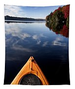 Lake In Autumn Tapestry
