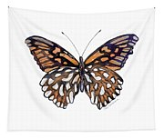 9 Mexican Silver Spot Butterfly Tapestry