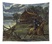 Paul Reveres Ride Tapestry