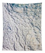 Silica Deposits In Water By The Tapestry