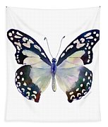 90 Angola White Lady Butterfly Tapestry by Amy Kirkpatrick