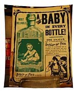A Baby In Every Bottle Tapestry