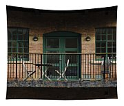 A Balcony On The River Aire Tapestry
