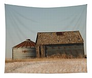 A Barn And A Bin Tapestry
