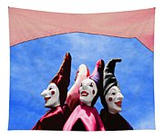 A Bevy Of Jesters Tapestry