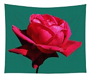 A Big Red Rose Tapestry