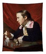 A Boy With A Flying Squirrel. Henry Pelham Tapestry