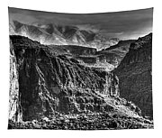 A Canyon Storm Tapestry