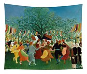 A Centennial Of Independence Tapestry