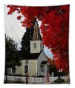 A Church In Historic Jacksonville Tapestry