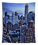 A City That Never Sleeps Tapestry