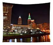 A Cleveland Night Tapestry