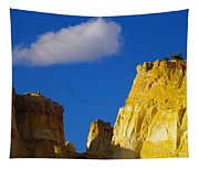 A Cloud Over Orange Rock Tapestry