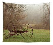 A Country Scene Tapestry